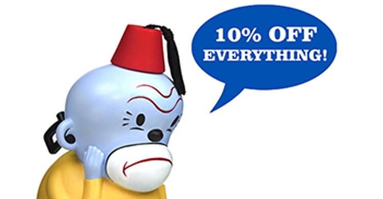 Gary Taxali Online Shop Promo