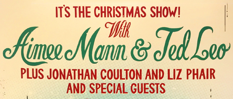 Aimee Mann and Ted Leo's Christmas Poster