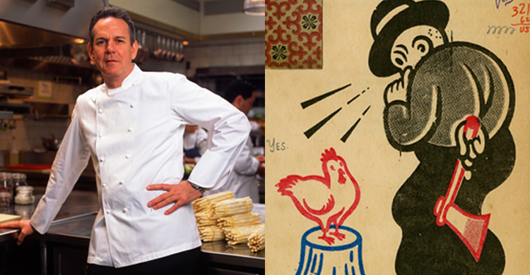 Art for Chef Keller Wins Society of Illustrators Award
